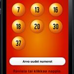Lottonumerot iPhone app