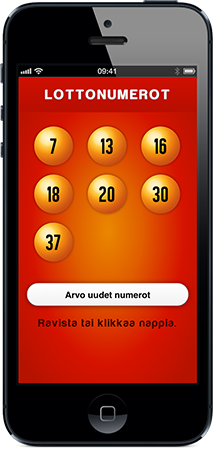 Lottonumerot Screenshot