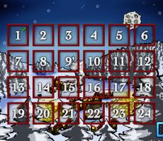 Joulukalenteri iPad app